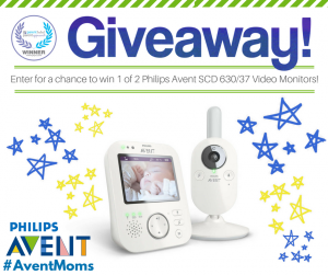 PTPA – Win 1 of 2 Philips Avent SCD 630-37 Video Monitors