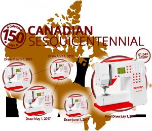 BERNINA – Win 1 of 5 Bernina 215 Simply Red Sewing Machine valued at $1,349 each OR 1 of 20 Bernina 8″ Tailor Shears