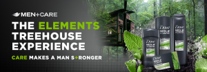 Conopco – Men+Care The Elements Treehouse Experience – Win 1 of 5 trips for 4 to a Chattanooga, TN USE to stay in the Elements Treehouse valued at $1,200 USD