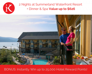 IndyKey Systems – Win a 2-night stay at Summerland Waterfront Resort Hotel in Summerland, BC