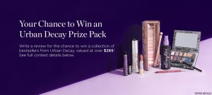 Shoppers Drug Mart – beauty Boutique – Win an Urban Decay prize pack valued at $268