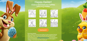 Storck – Toffifee Easter Colouring – Win 1 of 10 prize packs valued at $103 CAD each