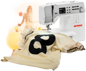 Bernina Canada – 2017 Bernina CreativFestival – Win 1 of 2 Bernina 350 Patchwork Edition Sewing machines OR 1 of 12 minor prizes of 2 tickets to the festival
