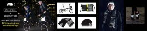 Bicycling – The Vespertine NYC and Brompton – Win a grand prize of a NYC Edition Brompton x Vespertine bike OR 1 of 12 minor prizes