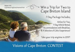 Cape Breton Island – Natalie's Trip – Win a trip for 2 to Nova Scotia