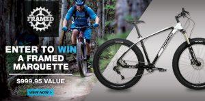 Framed Bikes – Win a MTBR Framed Bikes Marquette Alloy Plus Bike valued at over $999 US