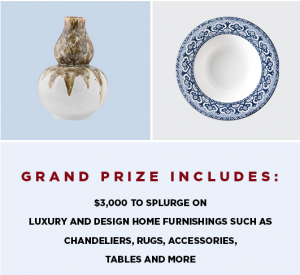 Hearst Magazines – Decor & Viyet – Win a $3,000 Shopping Spree