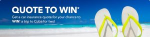 InsuranceHotline.com – Quote to Win 1 of 4 Weekly prizes consisting of FlightCentre voucher, Apple iPhone 7, $500 Gas Card or Air Canada Voucher for a trip to New York