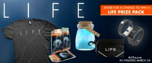 Landmark Cinemas – #LIFEmovie –  Win 1 of 10 LIFE prize packs valued at $170 CAD each