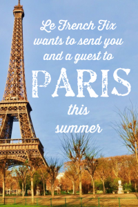 Le French Fix & ASL Airlines – Win a trip for 2 to Paris this summer