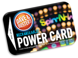 ParentSource – Dave & Buster's – Win a family pack of 4 Power Cards at Dave & Busters