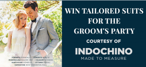 Postmedia Network & Indochino – Win 5 complete men's outfits valued at $4,000 CDN