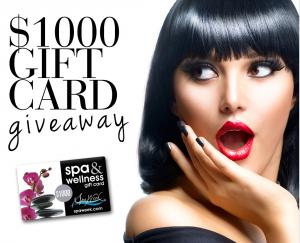 Spa Week – Win a $1,000 Spa & Wellness Gift Card OR 1 of 5 Spa & Wellness Gift Cards valued at $100 each