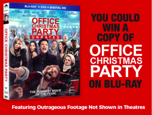 """Tribute Publishing – Win 1 of 5 copies of """"Office Christmas Party"""" on Blu-ray combo pack"""