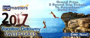 Tripmasters – Win 2 round trip tickets to anywhere Delta Airlines flies