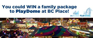 Wonderlist – PlayDome – Win 4 entry tickets to PlayDome 2017 at BC Place & food voucher