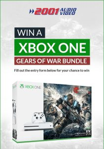 2001 Audio Video – Win a Microsoft XBox Console Bundle