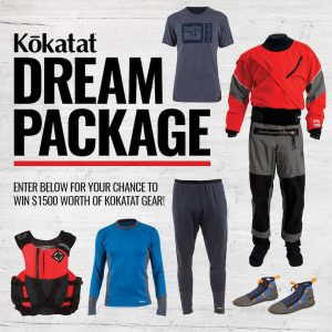 Adventure Kayak Magazine – Win $1,500 in Kokatat Gear