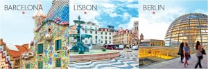 Air Canada Vacations – The Europe Your Way – Win a 7-night adventure for 2 in Barcelona, Lisbon or Berlin valued at $4,000