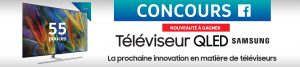 Ameublements Tanguay – Win a QLED 4K smart TV 55-inch brand Samsung model QNQ7F valued at $3,800