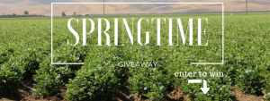 California Beans – Spring Giveaway Time – Win a $400 Amazon gift card