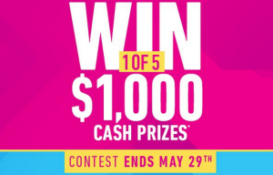 Easy Financiere – Spring Cash – Win 1 of 5 cash prizes valued at $1,000 CDN each
