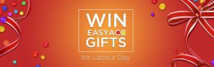 EasyAcc – Win an EasyAcc Gifts for Labour Day