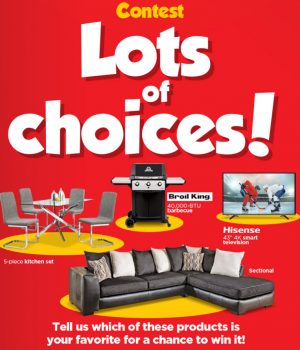 EconoMax Plus – Lots of Choices – Win a prize valued at up to $1,299