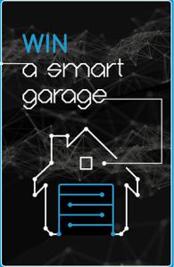 Garaga – Design Your Door – Win a Smart Garage including the garage door system, the opener and accessories valued at $2,500