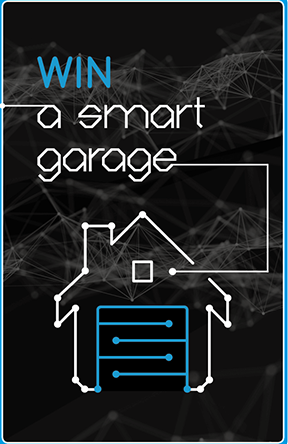 Garaga – Design Your Door – Win a Smart Garage including the garage door system, the opener and accessories valued at $2,500