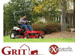 Grit – Exmark Mower – Win an Exmark Lazer Z X-Series zero-turn mower valued at $13,450