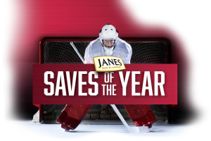 Janes Saves of the Year – Win a trip for 4 to The 2017 Mastercard Memorial Cup in Windsor, Ontario