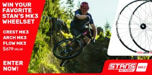 MTBR Stan's No Tubes MK3 Wheelset – Win a MK3 Wheelset valued at $679