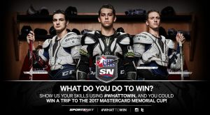 Sports Net – #WhatToWin Memorial Cup – Win a trip for 2 to Windsor, ON valued at CND $3,000