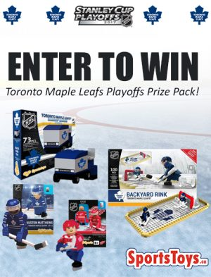 Sports Toys – Win a OYO Sports Toronto Maple Leafs prize pack valued at $100