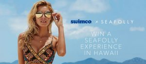 Swimco & Seafolly – Win a trip for 2 to Honolulu, Haiwaii plus a $500 shopping spree & a $300 Swimco Gift card