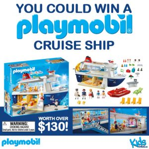 "Tribute Publishing – Win a ""Playmobil Cruise Ship"" valued at $130"