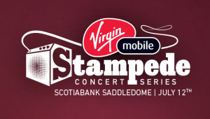 Virgin Mobile Canada – Stampede Concert Series-Experience – Win 1 of 45 VIP Members Lounge 2 tickets to the concert plus a $50 voucher for food and drinks