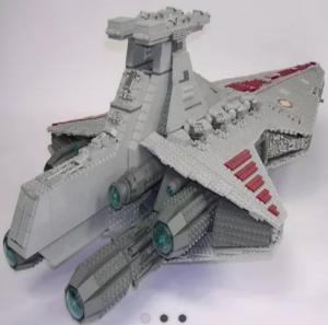 Bricksclub – Win a Venator Republic Cruiser of 6125 Bricks valued at $465