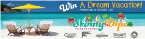 California Giant Berry Farms – Skinny Dips – Win a grand prize of a getaway for 2 at a Sandals Beach Resort OR 1 of 6 other prizes