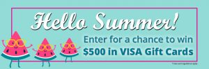 FR@SNM – vaccines411.ca – Win 1 of 5 VISA gift cards valued at $100 each
