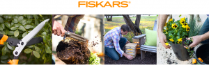 Fiskars 2017 Garden – Beautify Your Backyard – Win a grand prize package valued at $3,841 OR a Runner up package valued at $1,298