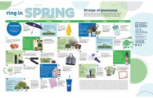 HGTV Magazine – Ring in Spring – 30 days of giveaways – Win a grand prize of a $500 spring shopping spree