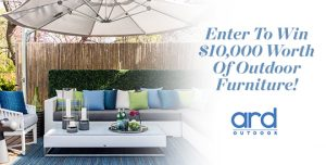 House & Home + ARD Outdoor – Win up to $10,000 for use at ARD Outdoor