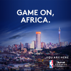 Marriott – Rewards Experiences Marketplace NBA Africa Game 2017 – Win an 8-day trip for 2 to South Africa