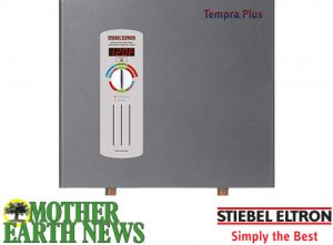 Ogden Publications – Mother Earth News – Stiebel Eltron – Win a Tankless Electric Water Heater Tempra 24 Plus valued at $959