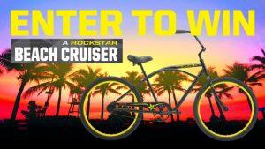 Rockstar & Canadian Tire Petroleum Beach Cruiser – Win 1 of 10 Rockstar Beach Cruisers valued at $325 each