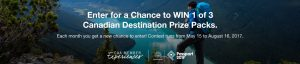 Rocky Mountaineer – CAA Member Experiences – Win a trip for 2 aboard the Rocky Mountaineer Canadian Rockies Highlights