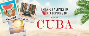 Sally Hansen – Miracle Gel Cuba Craze – Win a trip for 2 to Cuba valued at $2,000