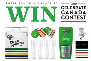 Steam Whistle Brewing – Celebrate Canada – Win a prize package valued at $1,767